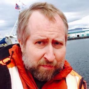 Jeff Barrus in Reykjavik